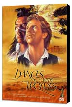 Dances with Wolves - 27 x 40 Movie Poster - Style E - Museum Wrapped Canvas