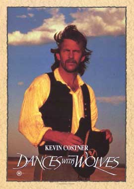 Dances with Wolves - 11 x 17 Movie Poster - Style D