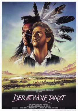 Dances with Wolves - 11 x 17 Poster - Foreign - Style A