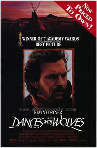 Dances with Wolves - 11 x 17 Movie Poster - Style E