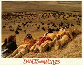 Dances with Wolves - 11 x 14 Movie Poster - Style F