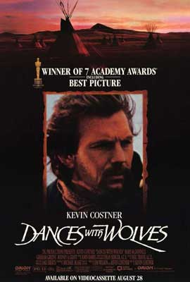 Dances with Wolves - 27 x 40 Movie Poster - Style B