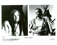 Dances with Wolves - 8 x 10 B&W Photo #3