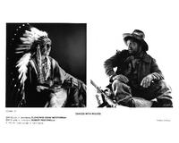 Dances with Wolves - 8 x 10 B&W Photo #4