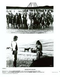 Dances with Wolves - 8 x 10 B&W Photo #6