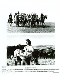 Dances with Wolves - 8 x 10 B&W Photo #7