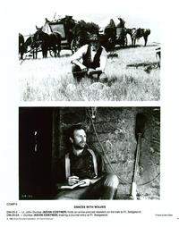Dances with Wolves - 8 x 10 B&W Photo #9