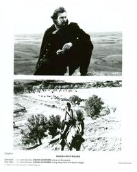 Dances with Wolves - 8 x 10 B&W Photo #10