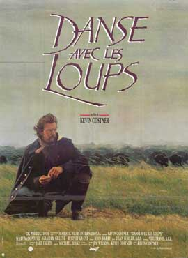 Dances with Wolves - 11 x 17 Movie Poster - French Style A