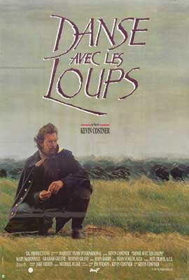 Dances with Wolves - 27 x 40 Movie Poster - French Style A