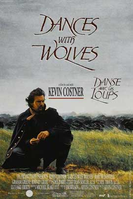 Dances with Wolves - 11 x 17 Movie Poster - Belgian Style A
