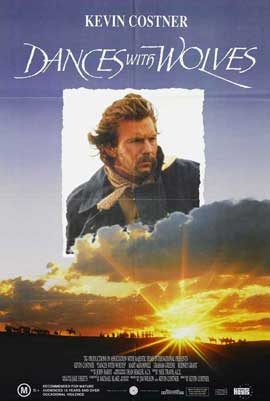 Dances with Wolves - 27 x 40 Movie Poster - Australian Style A