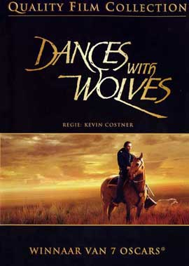 Dances with Wolves - 11 x 17 Movie Poster - Danish Style A