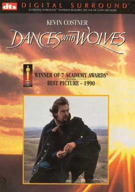 Dances with Wolves - 27 x 40 Movie Poster - Style D