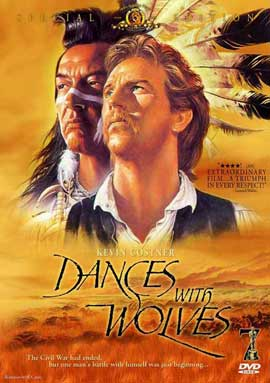 Dances with Wolves - 27 x 40 Movie Poster - Style E