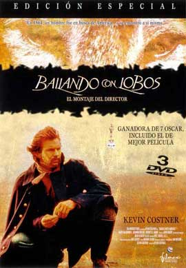 Dances with Wolves - 11 x 17 Movie Poster - Spanish Style C