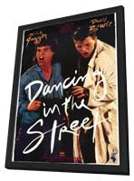 Dancing in the Street - 11 x 17 Movie Poster - Style A - in Deluxe Wood Frame