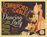 Dancing Lady - 22 x 28 Movie Poster - Half Sheet Style B