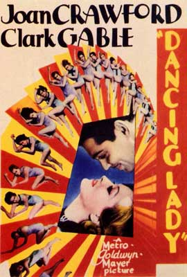 Dancing Lady - 27 x 40 Movie Poster - Style A