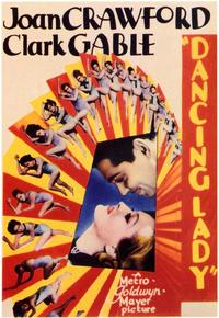 Dancing Lady - 43 x 62 Movie Poster - Bus Shelter Style A