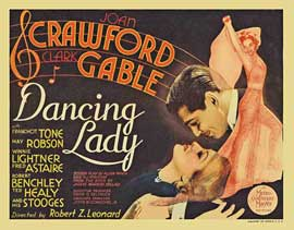 Dancing Lady - 11 x 14 Movie Poster - Style B