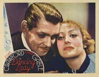 Dancing Lady - 11 x 14 Movie Poster - Style D