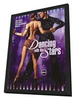 Dancing with the Stars - 27 x 40 TV Poster - Style A - in Deluxe Wood Frame