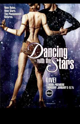 Dancing with the Stars - 11 x 17 TV Poster - Style A