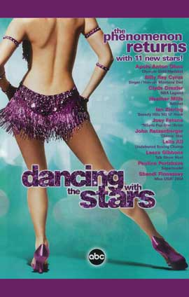 Dancing with the Stars - 11 x 17 TV Poster - Style E