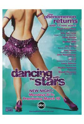 Dancing with the Stars - 27 x 40 TV Poster - Style C