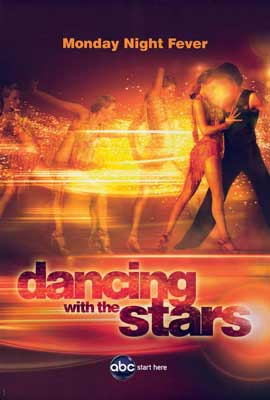 Dancing with the Stars - 27 x 40 TV Poster - Style D
