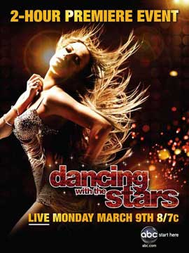 Dancing with the Stars - 11 x 17 TV Poster - Style G