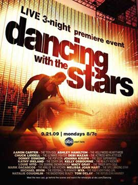 Dancing with the Stars - 11 x 17 TV Poster - Style I
