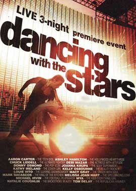 Dancing with the Stars - 11 x 17 TV Poster - Style J