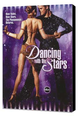 Dancing with the Stars - 27 x 40 TV Poster - Style A - Museum Wrapped Canvas