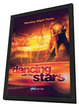 Dancing with the Stars - 11 x 17 TV Poster - Style F - in Deluxe Wood Frame
