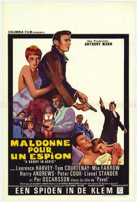 Dandy in Aspic - 11 x 17 Movie Poster - Belgian Style A