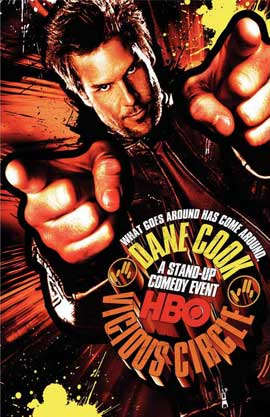 Dane Cook: Vicious Circle (TV) - 11 x 17 Movie Poster - Style A
