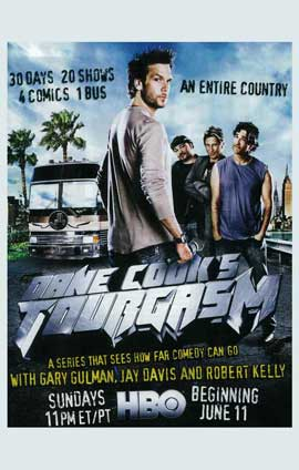 Dane Cook's Tourgasm - 11 x 17 TV Poster - Style A