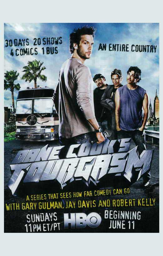 Dane Cook s Tourgasm movie