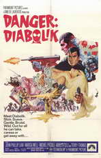 Danger: Diabolik - 11 x 17 Movie Poster - Style A