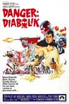 Danger: Diabolik - 11 x 17 Movie Poster - Style B