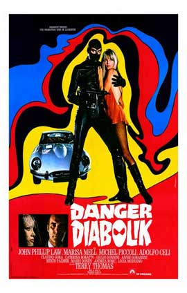 Danger: Diabolik - 11 x 17 Poster - Foreign - Style A