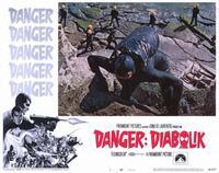 Danger: Diabolik - 11 x 14 Movie Poster - Style B