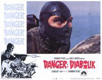 Danger: Diabolik - 11 x 14 Movie Poster - Style G