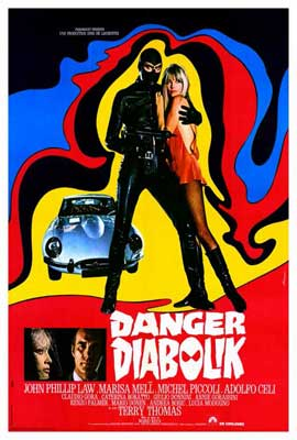 Danger: Diabolik - 27 x 40 Movie Poster