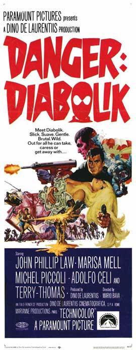 Danger: Diabolik - 14 x 36 Movie Poster - Insert Style A