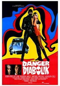 Danger: Diabolik - 43 x 62 Movie Poster - Bus Shelter Style A