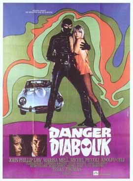 Danger: Diabolik - 27 x 40 Movie Poster - Italian Style B