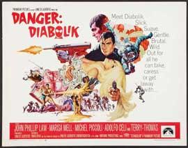 Danger: Diabolik - 22 x 28 Movie Poster - Half Sheet Style A
